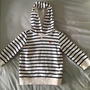 Carters striped hoodie